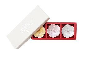 梅箸置3個セット・化粧箱入