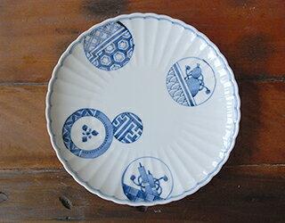 6.5号菊皿丸紋