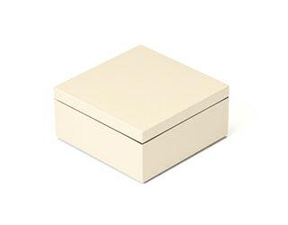 3.5寸マス重 絹白【ミニ重箱】【雛祭り】