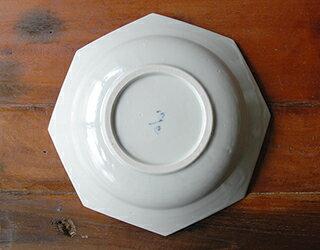 8寸八角深皿白磁
