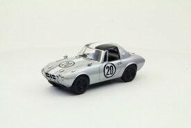 1/43 EBBRO エブロ【Toyota Sports 800 Funabashi CCC 1965 (シルバー)】44621/MMPエムエムピー