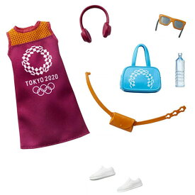 ★365日毎日出荷OK!★東京2020オリンピック Barbie バービー【ライセンスファッションストーリー オリンピック Pack5(GJG33)】マテル・インターナショナル