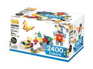 LaQ ベーシックシリーズ 2400 カラーズ