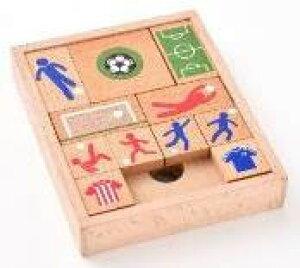 木製パズル&ゲーム【スライドサッカー】幻冬舎