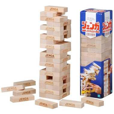 ハラハラどきどきのゲーム 天然木材使用【Jenga ジェンガNEW】タカラトミー