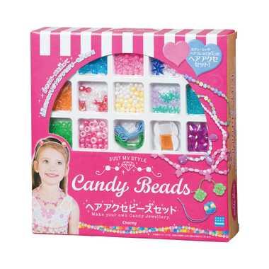 キャンディビーズ【CBB-002 ヘアアクセビーズセット】カワダ