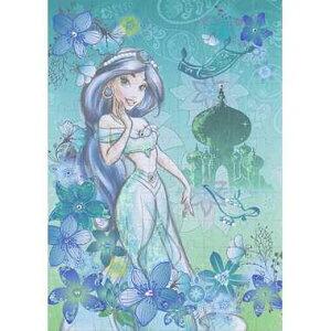 ★365日毎日発送OK★Disney パズルデコレーション【72-004 Jasmine(ジャスミン) exotic emerald パズルデコレーション】108ピース(18.2×25.7cm)/エポック社