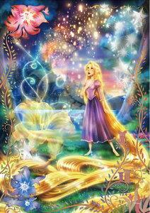 Disney ディズニージグソーパズル【D-108-782 輝く魔法の髪(ラプンツェル)】108ピース(18.2×25.7cm)/テンヨー