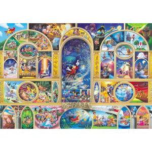 Disney ディズニージグソーパズル【D-108-988 ディズニーオールキャラクタードリーム】108ピース(18.2×25.7cm)/テンヨー