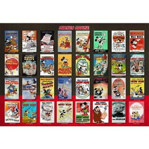 Disney ディズニージグソーパズル【D-1000-496 ムービーポスター コレクション】1000ピース(51x73.5cm)/テンヨー