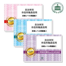 【送料・代引手数料無料】清瀬市職員採用教養試験合格セット(3冊)