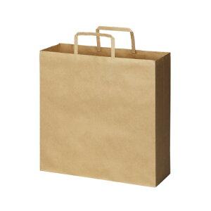 コクヨグループ 手提げ袋 紙製 平ひも スタンダード茶(未晒し) 薄口 Mタイプ 50枚入り メーカー品番:4255-2710 サイズ:幅320高さ320マチ115mm 材質:未晒しクラフト紙 紙厚:80g/平米