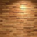室内用壁材 ウッドタイル 60×225×12+21mm 立体デザイン 1平米/76枚セット