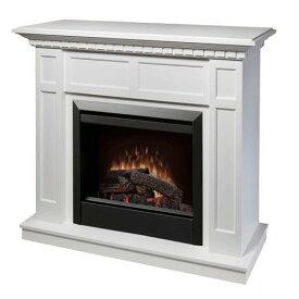 電気式暖炉 カナディアンライフスタイル Dimplex ディンプレックス 23inchプロローグ キャップライス ホワイト