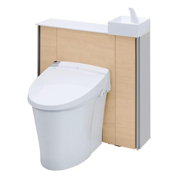 LIXIL(リクシル) キャビネット付きトイレ リフォレ I型 ワイド間口タイプ(手洗い付き) 床排水 H1グレード YDS-H1SX85X1/LPW