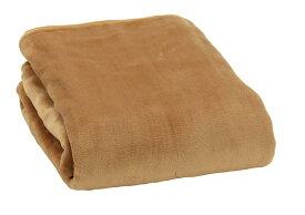 広電(KODEN) 肌ざわりが気持ち良いフランネル素材 電気合わせ敷毛布(片面フランネル)