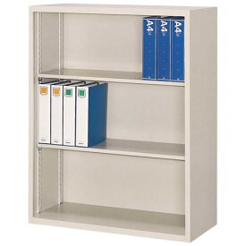 A4対応 オープン書庫 W880×D400×H1110mm 送料別 法人様限定商品 [FO40-G11]