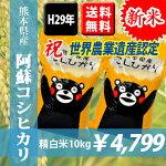 熊本県産阿蘇コシヒカリ10kg