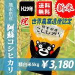 熊本県産阿蘇コシヒカリ5kg