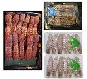 コレ1つで送料無料 殻付き特大オスメス蝦蛄&ムキシャコ子持3種 トリプルセット すぐに食べられます【お歳暮】【業…