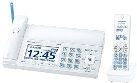 デジタルコードレス普通紙ファクス 子機1個付き パナソニック KX-PD725DL-W ホワイト