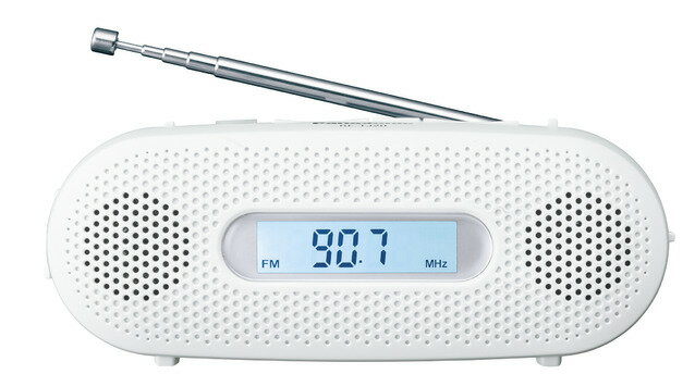 AM FMラジオ 手回し充電 パナソニック RF-TJ20-W ホワイト