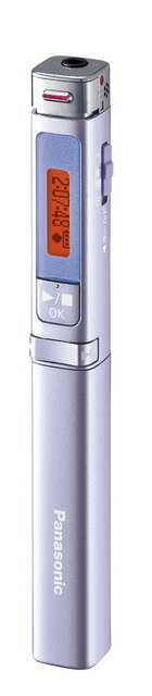 ICレコーダー ペン型 パナソニック RR-XP008-V バイオレット