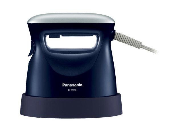 パナソニック 衣類スチーマー ピンクブラック NI-FS530-DA ダークブルー