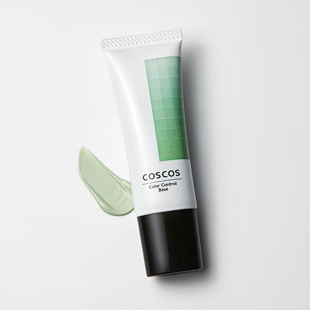 コスプレイヤー用化粧品 COSCOS-コスコス- カラーコントロールベース ミントグリーン (f)1a