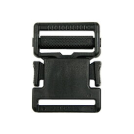 YKK プラスチックパーツ 差し込みバックル(LB30) 30mm幅テープ用 黒 1個入 (B)_4a_