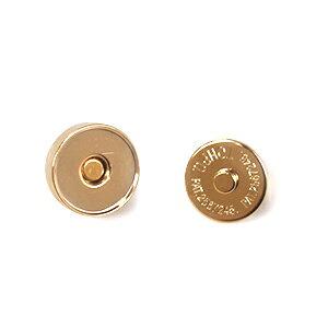 マグネットボタン 差し込みタイプ(1123) 14mm G.ゴールド (H)_6a_