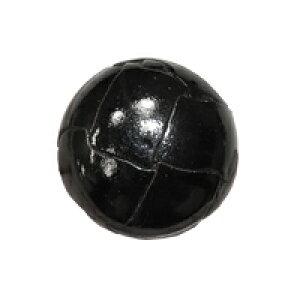 本革ツヤ有りバスケットボタン(72000) 30mm 09.黒 (H)_6a_