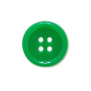 蛍光4ツ穴ボタン(BK2000) 25mm 62.緑 (H)_6a_