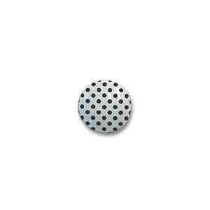 水玉シャツボタン(VE9527) 13mm 1.白地×黒 (H)_6a_