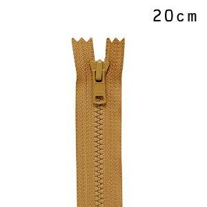 YKK 4ビスロンファスナー 止め(4VS DA C) 20cm 508.フォックス (H)_6b_