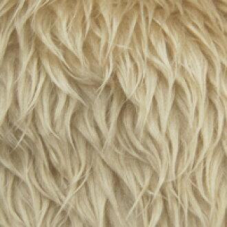 456. light beige fur fabric poodle Boa (5820) [b] k5