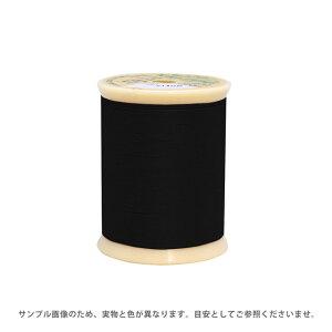 レザー用ミシン糸 フジックス キングレザー 30番 200m巻(1902) 色番402.黒 (H)_6b_
