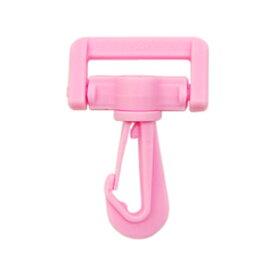 YKK プラスチックパーツ ナスカン(LN25) 25mm幅テープ用 ピンク 1個入 (B)_4a_