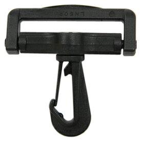 YKK プラスチックパーツ ナスカン(LN50) 50mm幅テープ用 黒 1個入 (B)_4a_