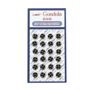 スナップボタン ゴンドラスナップ(510) 5mm アンティークゴールド (H)_6a_