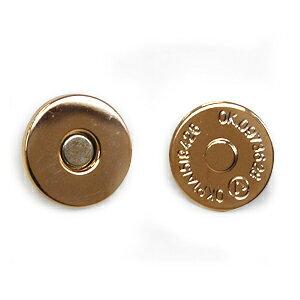 薄型マグネットボタン 差し込みタイプ(1135) 18mm G.ゴールド (H)_6a_
