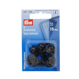 prym-プリム- プラスチックスナップボタン 15mm 黒 (B)z6a_