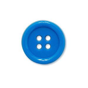 蛍光4ツ穴ボタン(BK2000) 15mm 55.青 (H)_6a_