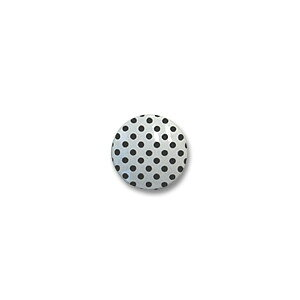 水玉シャツボタン(VE9527) 10mm 1.白地×黒 (H)_6a_