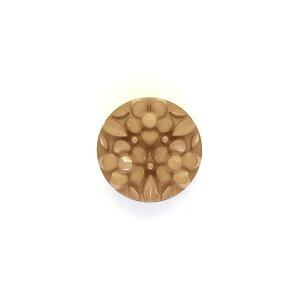 ボタン ナイロンフラワーブーケボタン (4518N) 13mm N950.ベージュ (H)_6a_