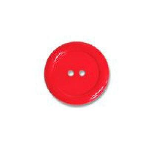 2つ穴デカボタン(60443) 40mm 15.赤 (H)_6a_