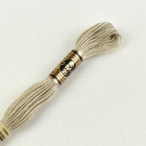 刺しゅう材料 DMC 刺繍糸 25番 色番644 (H)_5a_