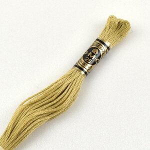 刺しゅう材料 DMC 刺繍糸 25番 色番834 (H)_5a_
