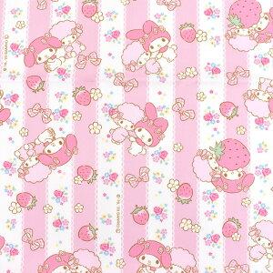 生地サンリオキャラクターズMMイチゴレース/オックス(774066)PO.ピンク(H)_ki_