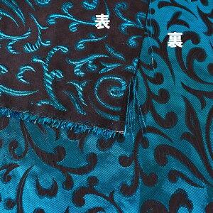 生地メタリックペイズリージャガード(HM9768)9.ブルー(H)_at_